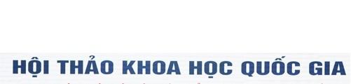"""Kế hoạch tổ chức Hội thảo quốc gia """"Cách mạng Công nghiệp lần thứ tư: Khởi nghiệp và phát triển doanh nghiệp Việt Nam""""."""