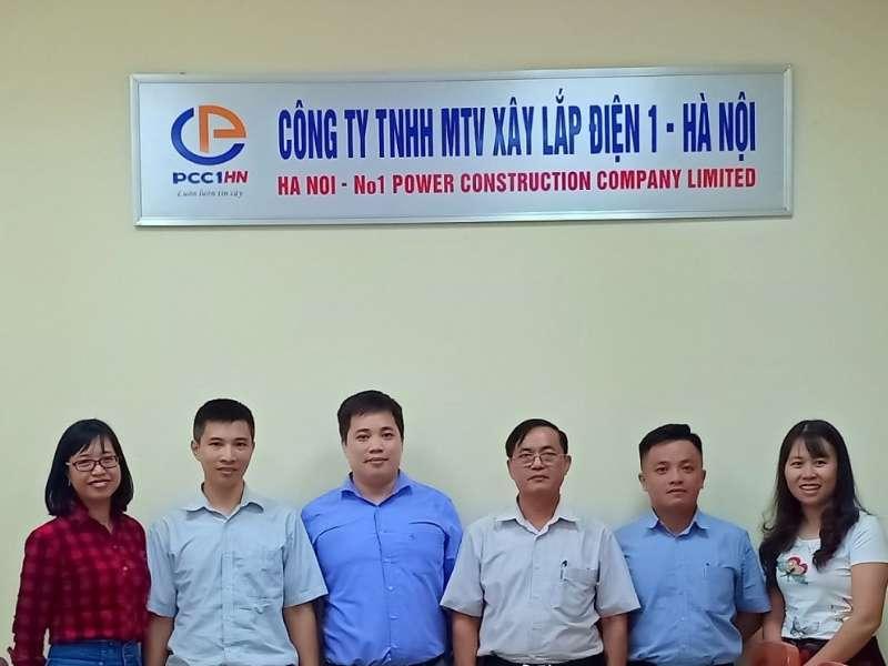 Trải nghiệm thực tế về công tác quản trị nhân lực tại Công ty Xây lắp Điện 1 – Hà Nội