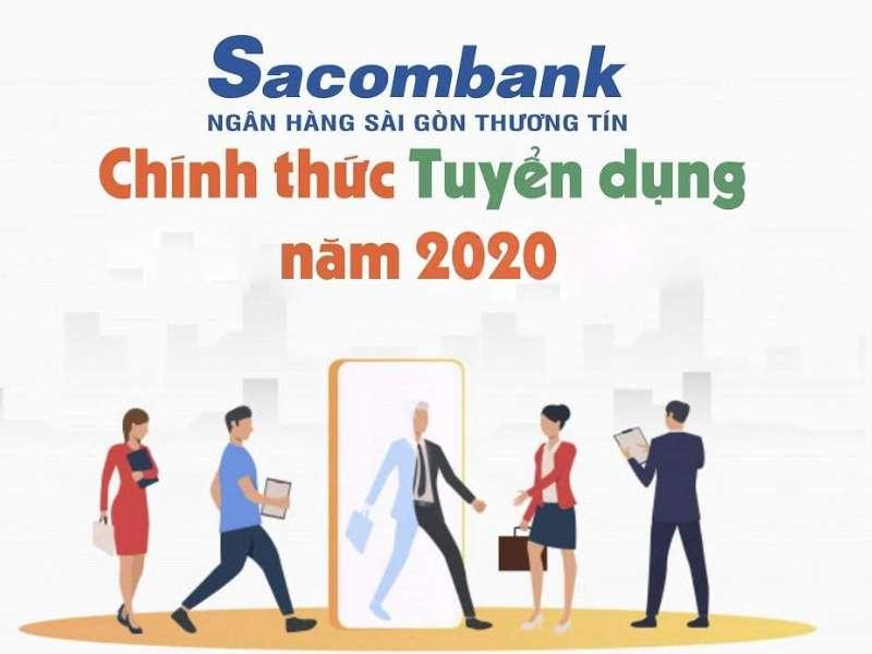 Thông báo tuyển dụng của Ngân hàng TMCP Sài Gòn Thương Tín (Sacombank)